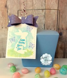 The Cricut Bug: Jaded Blossom February Release Morning of- Some Bunny Loves You
