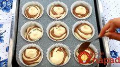 Konečne fantasticky vláčne muffiny: Z tohoto cesta robím bábovky aj koláče, nemá konkurenciu! Cupcake Cookies, Mini Cupcakes, Food And Drink, Cooking, Breakfast, Desserts, Basket, Kitchen, Morning Coffee