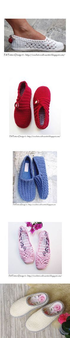 These lightweight crochet slippers with flip flop soles are super comfy and fun! Free crochet pattern and video tutorial! Crochet Sandals, Crochet Boots, Crochet Clothes, Knit Crochet, Crochet Shoes Pattern, Knit Patterns, Crochet Flip Flops, Mode Crochet, Knitted Slippers