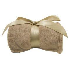 4347b8b1a5 Luxury Plush 42x60 Fleece Throw Blanket with Bow