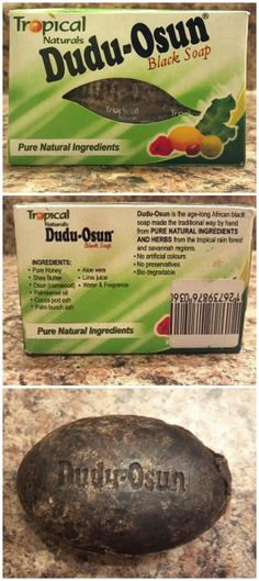 Dudu Osun African Black Soap for Acne/Oily Skin