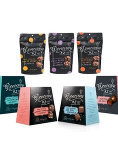 We have two Donovan Chocolates gift packs worth $80 each to give away to celebrate two new additions to the range - Dark Chocolate Sea Salt Caramels and Almond and Cranberry Clusters.