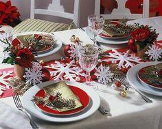 NapadyNavody.sk | 39 úžasných nápadov na vianočné stolovanie