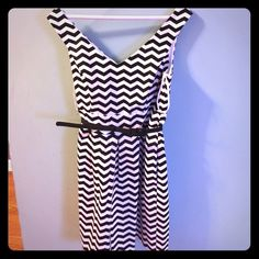 Black and white market dress Wore once! Black and white market Dresses