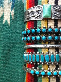 Turquoise from Santa Fe…