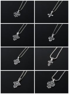 High Quality Handmade Sterling Silver / Gold Jewelry by DynamiSJewelrySD Silver Chain For Men, Mens Silver Jewelry, Sterling Silver Jewelry, Handmade Sterling Silver, Cross Pendant, Crosses, Biker, Men's Fashion, Handmade Jewelry