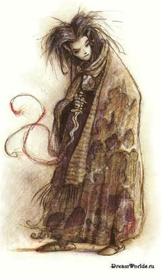 Dustman (from Planescape AD) by Tony DiTerlizzi.