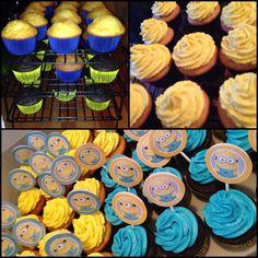 Despicable Me - Minion Cupcakes