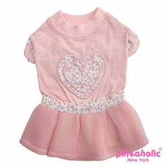 Save 30% Now and Free Shipping! Lovesome Dog Dress by Pinkaholic - Pink! http://highsocietycanine.com/products/lovesome-dog-dress-by-pinkaholic-pink?utm_campaign=outfy_sm_1486007675_445&utm_medium=socialmedia_post&utm_source=pinterest #dogs #dogfashion #cute