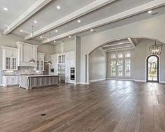 notes on dream house ideas open kitchens concept floor plans step by step . - Notes on Dream House Ideas Kitchens Open Concept Floor Plans Step by Step …, - House Design, House, Home, Living Room Flooring, Kitchen Room, Building A House, House Plans, House Rooms, New Homes