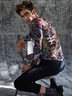 MIKE KAGEE FASHION BLOG: JON KORTAJARENA SPANISH SUPERMODEL FOR THE LATEST ...