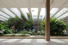 ministério das relações exteriores da brasil, brasília. Garden and architecture