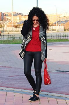 Rojo y negro. Red and black
