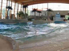 YES! A beach pool at my house! And even better....it's indoors! Year round beach time! Oh yes yes yes!
