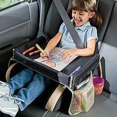 Prático para viagens de carro!