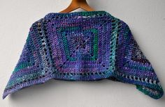 Crochet wool and silk kids poncho / crochet by SophieCRO on Etsy