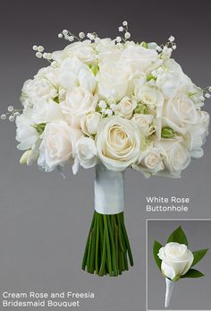 white wedding flowers bridal flowers - Page 39 of 100 - Wedding Flowers & Bouquet Ideas Bridesmaid Flowers, Bridal Flowers, Freesia Bouquet, Diy Flowers, Spring Flowers, Bridesmaids, White Wedding Bouquets, Bride Bouquets, Dream Wedding