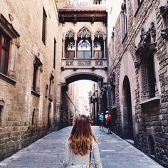 One of the best things of this 2015 has been discover Barcelona properly ... I'm going to miss my trips there ❤️