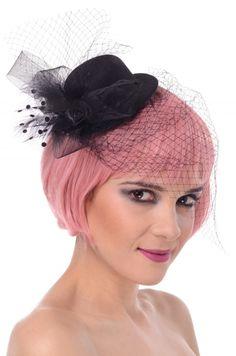 Mini kapelusz- mega stylowy! Zaskoczysz swoim ekstrawaganckim wyglądem- z klasą!