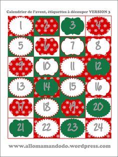 Bientôt Décembre! Je te propose donc de créer ton propre calendrier de l'Avent, grâce à trois idées que j'ai réalisé (moi-même avec mes petites mains, et