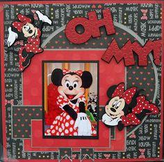 of a Disney Flip Mini Scrapbook Album (Cricut die cut machine). Description from . I searched for this on /images Album Scrapbook, Vacation Scrapbook, Disney Scrapbook Pages, Scrapbook Layout Sketches, Scrapbook Paper Crafts, Scrapbooking Layouts, Style Disney, Disney Fun, Disney Ideas
