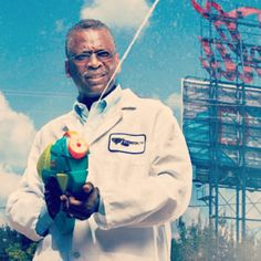 Lonnie Johnson, engineer and inventor of the Super Soaker. #BLERD #EngineerFlow Spray the Haters.