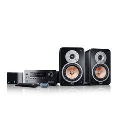 Kombo 42 BT Streaming jetzt kaufen! Leistungsstarke Stereo-Anlage mit CD, Radio, TV-Eingang und USB ✔ Starker 80 Watt-Verstärker für hohe, verzerrungsfreie Pegel! Netzwerkplayer für Spotify, SoundCloud, TuneIn, Chromecast, Deezer und eigene Musik