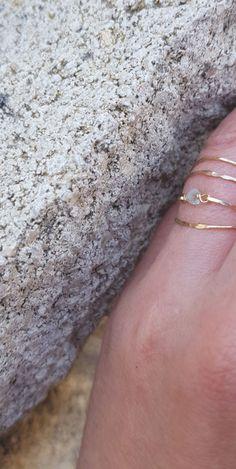 Aquamarine Ring, Light Blue Gold Ring,Minimal Ring,Aqua Light Blue Rings,Gold Ring Solid,Personalized Ring,Gemstone Gold Filled 14k Ring Metal Jewelry, Boho Jewelry, Silver Jewelry, Blue Rings, Gold Rings, Bohemian Rings, Aquamarine Gemstone, Personalized Rings, Jewelry Making Tutorials