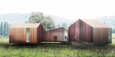 Pavilions and Follies of the Parc des Bords de Seine / AWP + HHF
