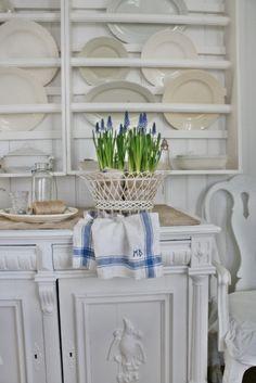 VIBEKE DESIGN: Winter White light & handmade
