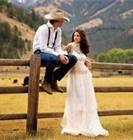 Rustic Wedding Dress -