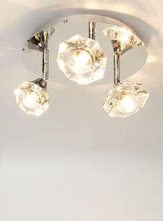 Bhs Wall Lights: Marina 3 Plate Spotlight Bhs,Lighting