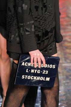 Fall Fashion 2013 Accessories Acne