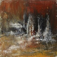 Daily Painting: 2015-12-02 #387MochaAcrylic on board, 20x20 cm