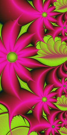 Fantasy Flowers - as Poster, Canvas Print, Framed Print and more