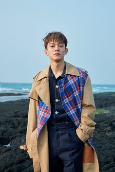 "Kim Jongdae (Chen) for mini album ""April, and a flower"" Exo Chen, Baekhyun Chanyeol, Daejeon, Luhan And Kris, Kim Jong Dae, Exo Official, Exo Luxion, Kim Minseok, Exo Ot12"
