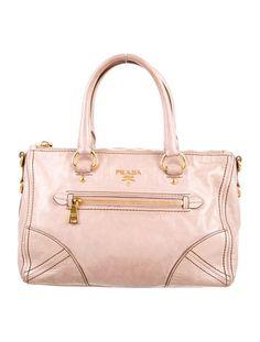 521b5a87c735 Prada Vitello Shine Satchel Consignment Online, Luxury Consignment,  Stylish, Design, Shopping,