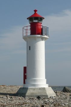 Manilaid light beacon, Manija island, Estonia