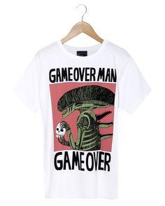 Jack Teagle Alien T-shirt design.