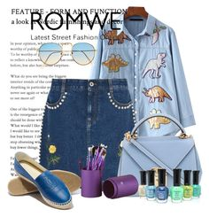 """Romwe"" by dzenanlevic99 ❤ liked on Polyvore featuring STELLA McCARTNEY and Mark Cross"