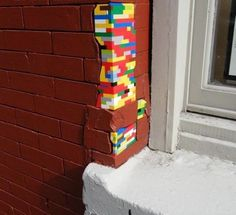Lego home repair. Looks alright to me.
