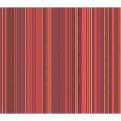 The Wallpaper Company 56 sq. ft. Red Metallic Stripe Wallpaper - WC1281118 at The Home Depot