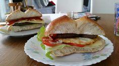 Homemade sandwich  Hausgemachtessandwich