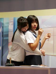 cute amateur lesbians at school