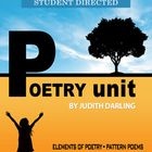 POETRY UNIT - Common Core Aligned for grades 6 - 8 This unit is designed to turn middle school students on to poetry. It is fun, creative,  and challenging.  This unit includes: *Complete lessons with rubrics and student directed scoring guides  *Elements of peotry with examples *Types of poetry with examples  *Six pattern poems  *Three poems to analyze including:      -O Captain! My Captain! By Walt Whitman      -The Highwayman By Alfred Noyes      -Jabberwocky By Lewis Carroll AND MUCH…