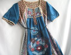 Caftan Embroidered Tunic Dress