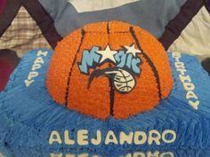 Orlando Magic basketball cake 2