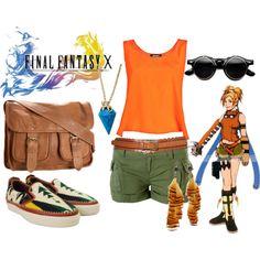 """Final Fantasy 10 Rikku"" by andydrinkscoffee on Polyvore"