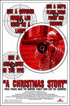 A Christmas Story MixedUp Movie Poster #Creepmas
