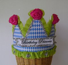 BIRTHDAY PRINCESS Birthday Party Crown